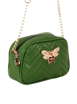 Green - Shoulder Bags - Luwwe 475866