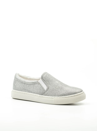 Spor Ayakkabı - Gümüş Simli - Letoon Ürün Resmi