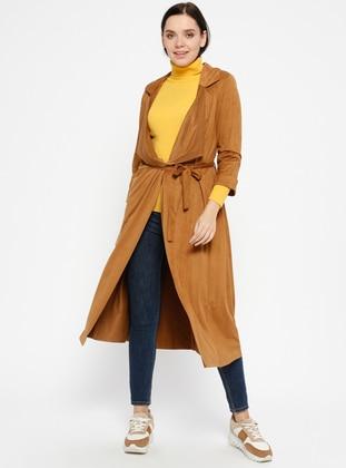 Tan - Trench Coat