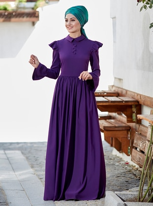 Zeynep Elbise - Mor - An-Nahar Ürün Resmi