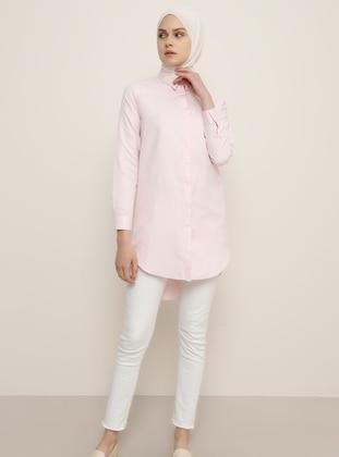 Pink - Point Collar - Tunic