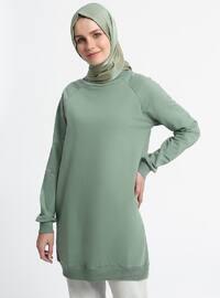 Crew neck - Green - Sweat-shirt