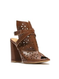 Topuklu Ayakkabı - Taba - ROVIGO