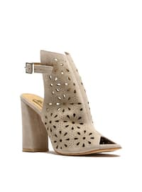Topuklu Ayakkabı - Bej - ROVIGO