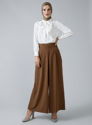 Brown - Culottes - Refka
