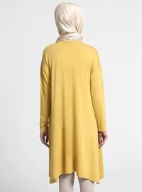 Mustard - Crew neck - Tunic