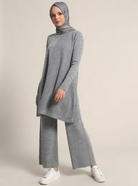 Gray - Unlined - Suit