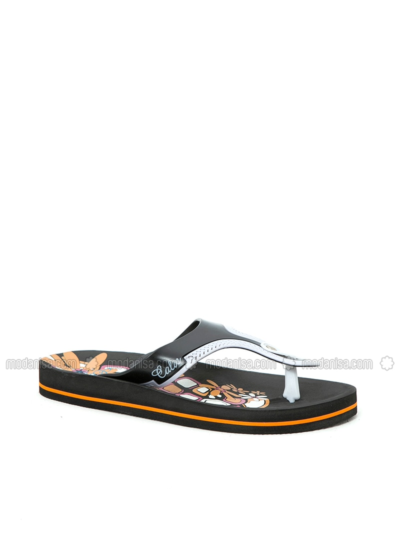 Black - Sandal - Slippers - BFGMODA