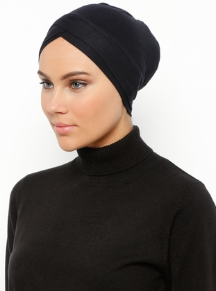 Black - Plain - Bonnet - Ecardin