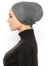 Anthracite - Lace up - Bonnet