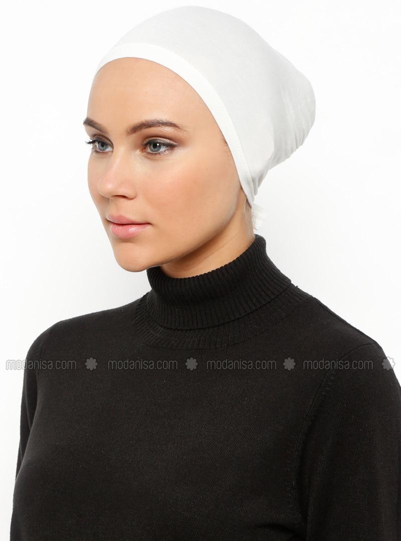 Ecru - Lace up - Bonnet