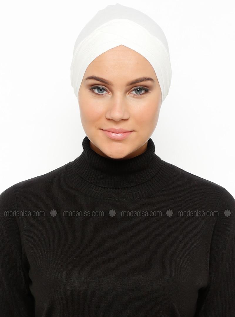 Ecru - Plain - Bonnet
