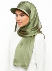 Abiye Şapka Şal - Açık Yeşil - Tulipa Turban