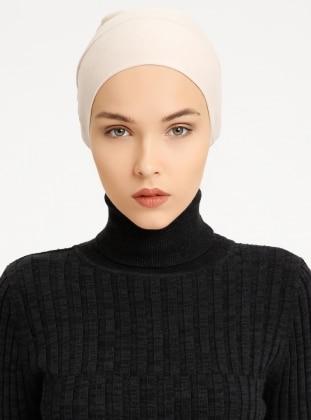 Combed Cotton - Lace up - Non-slip undercap - Minc - Bonnet - Tuva Bone