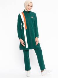 Emerald - Polo neck - Tracksuit Set