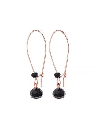 Black – Earring – Simplicty