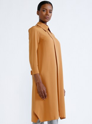Camel - Point Collar - Tunic