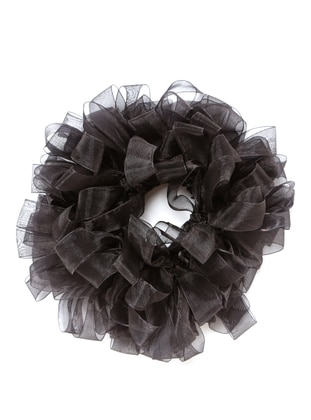 Black - Scarf Accessory - Mervin Şal