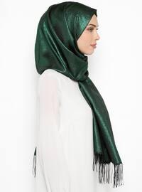 Green - Plain - Shawl