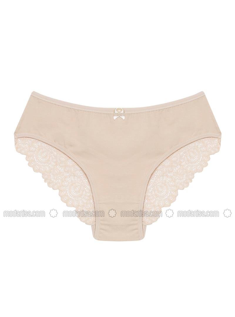 Beige - Panties