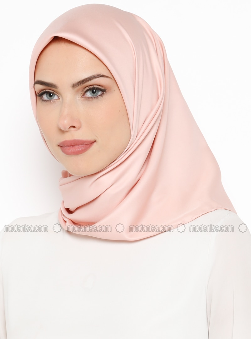 Powder - Plain - Twill - Scarf