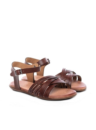Just Shoes Sandalet - Taba