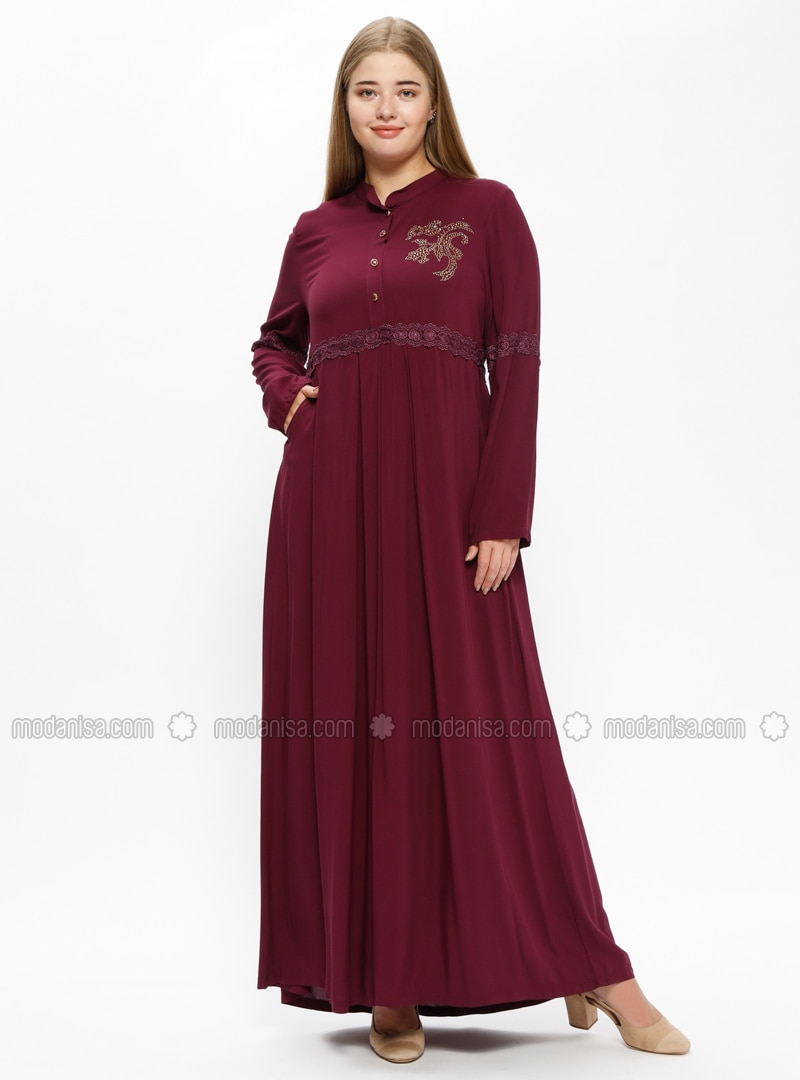350ab618c6065 Plum Plus Size Dress - Dress Foto and Picture