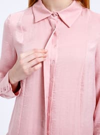 Powder - Point Collar - Blouses