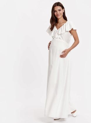 White - Maternity Dress - LC WAIKIKI
