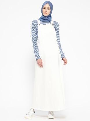 Salopet Elbise - Beyaz - Neways Ürün Resmi