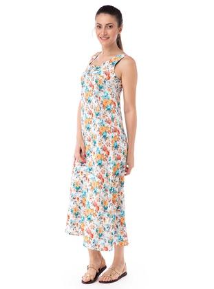 Multi - Sweatheart Neckline - Viscose - Multi - Sweatheart Neckline - Viscose - Multi - Sweatheart Neckline - Viscose - Multi - Sweatheart Neckline - Viscose - Loungewear Dresses