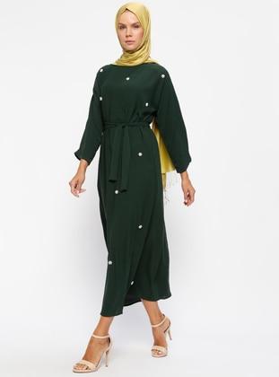 Emerald - Crew neck - Unlined - Dresses