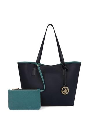 a95ba7eb47 Green - Navy Blue - Shoulder Bags · Beverly Hills Polo Club · Shoulder Bags  - Green Navy Blue