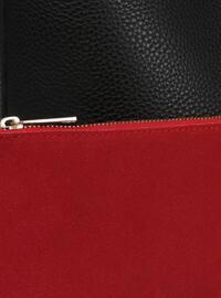 Red - Black - Shoulder Bags