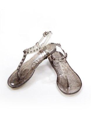 Smoke-coloured - Sandal - Sandal