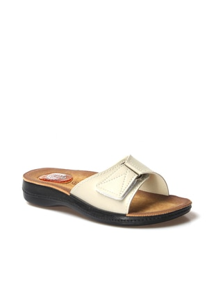 Beige - Sandal - Slippers - Faststep