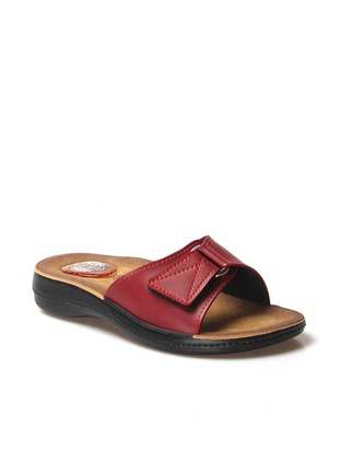 Maroon - Sandal - Slippers - Faststep