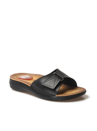 Black - Sandal - Slippers - Faststep