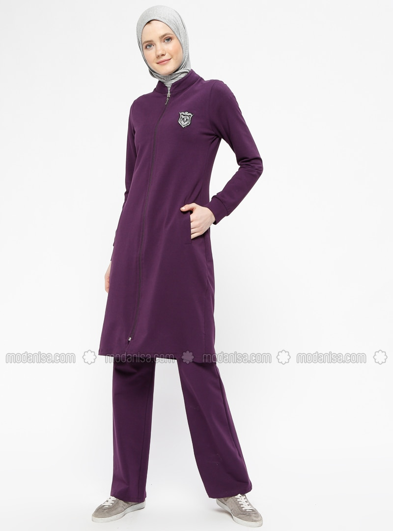 Purple - Unlined - Suit