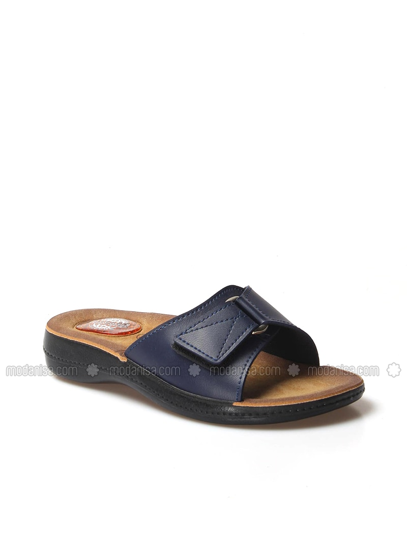 Navy Blue - Sandal - Slippers - Faststep