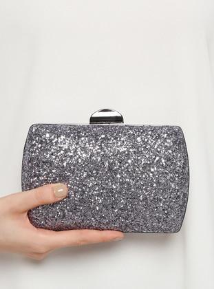 Silver Tone - Clutch Bags / Handbags - Varolli