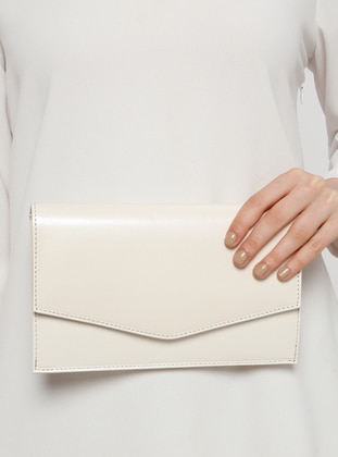 Ecru - Clutch Bags / Handbags