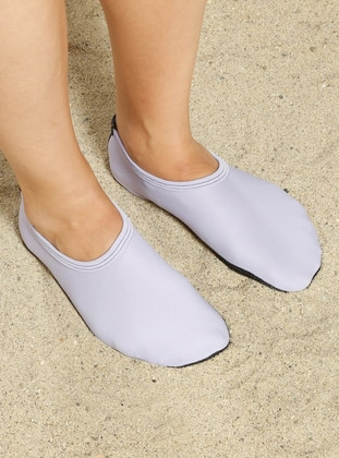 Lilac - Sandal - Shoes - Ayak Mayosu