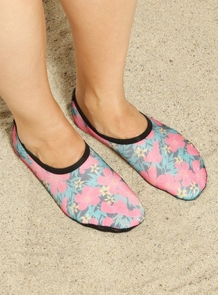 Pink - Sandal - Shoes - Ayak Mayosu