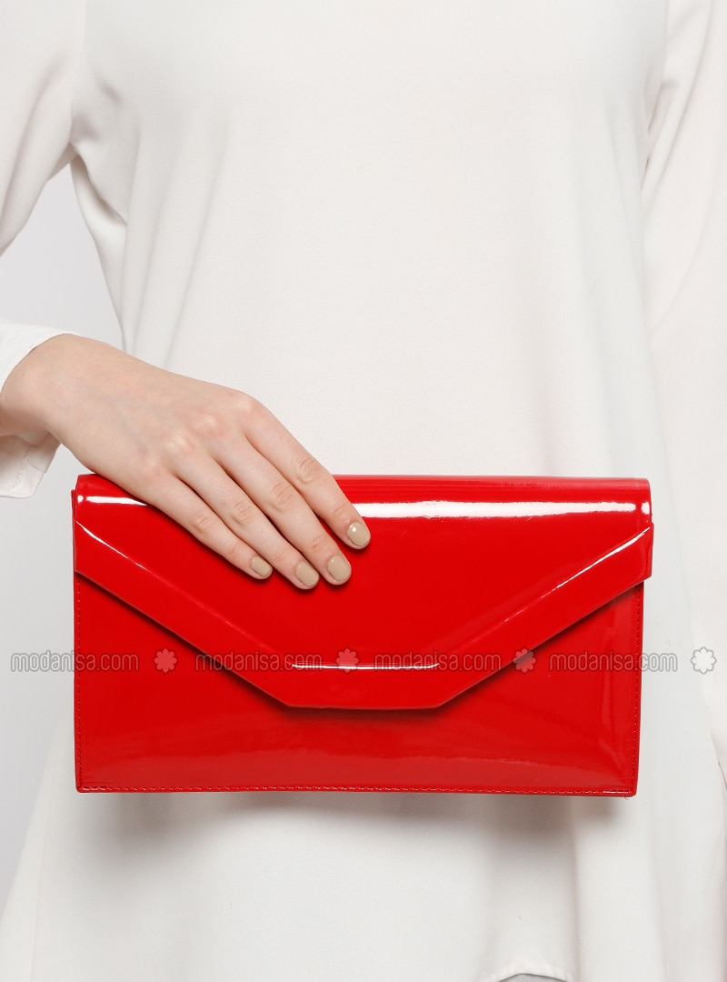 5337cf2af8 Red - Clutch Bags / Handbags. Fotoğrafı büyütmek için tıklayın