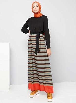 71117e464beb0 Stripe Maternity Dresses - Shop Women's Maternity Dresses | Modanisa