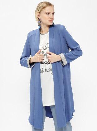 Tunik&Ceket İkili Takım - İndigo - İkoll Ürün Resmi