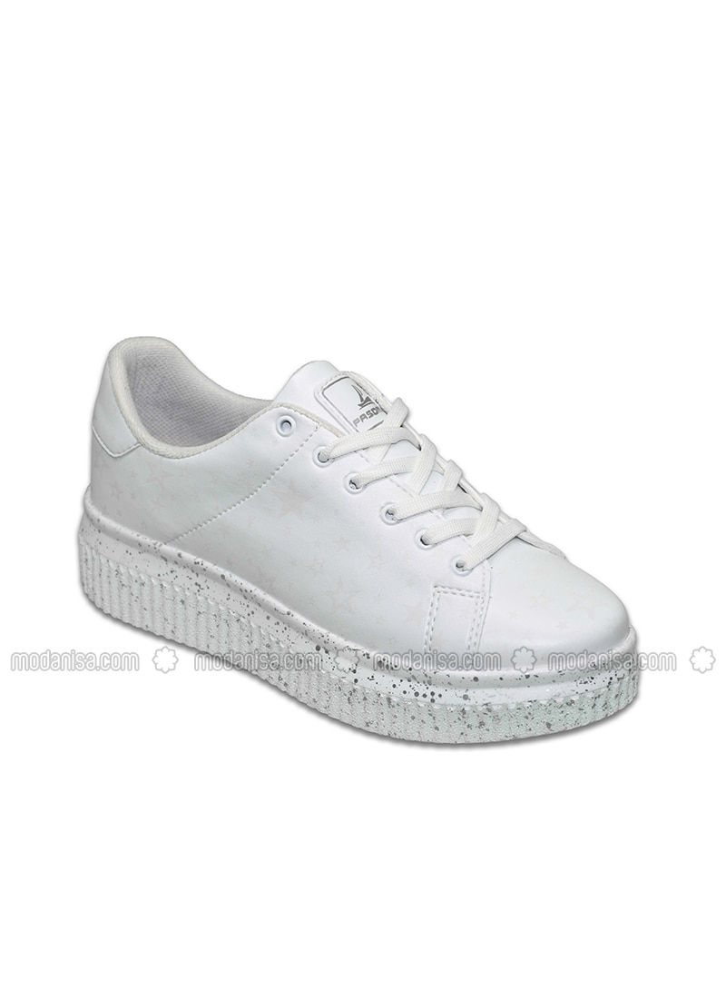 Blue - White - Sport - Sports Shoes