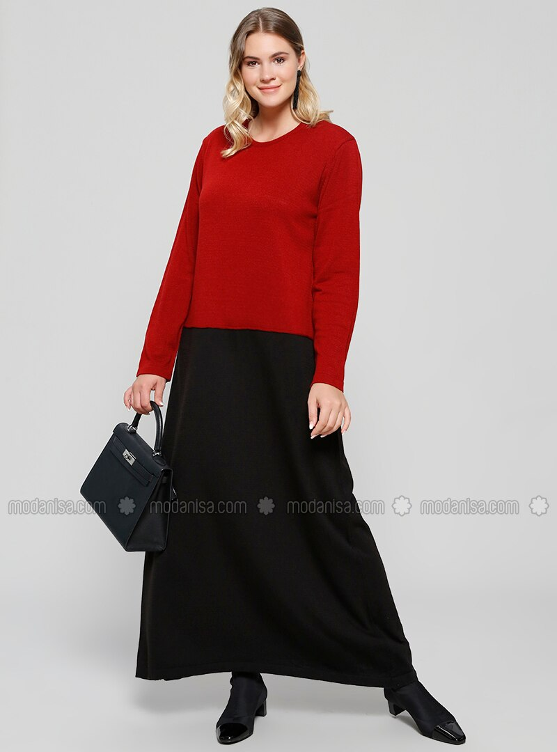 Red and Black Plus Size