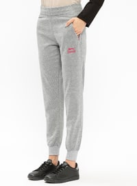 Gray - Tracksuit Bottom